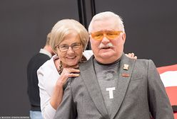 """Lech Wałęsa z żoną nie zadziera. """"Kurdę, ma rację"""""""