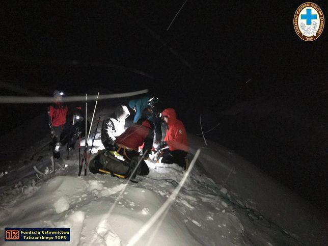 Turyści zgubili się w Tatrach. Dwie akcje TOPR