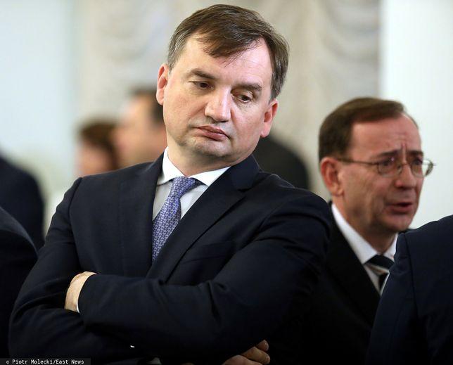 Zbigniew Ziobro i Mariusz Kamiński
