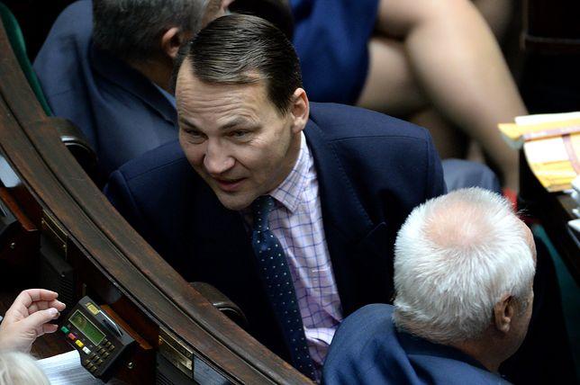 Radosław Sikorski nie dostał zaproszenia na posiedzenie Sejmu na czas