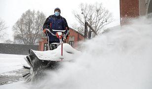 Warszawa. Władze Wawra ograniczają używanie soli przy odśnieżaniu
