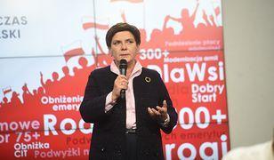 """Beata Szydło zabrała głos ws. brexitu. """"Szanuję ten wybór"""""""