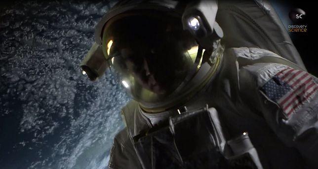 Dowódca misji kosmicznej zobaczył tajemnicze światła. Obiekty utworzyły kształt trójkąta