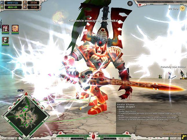 Avatar Khaina, finalna jednostka Eldarów