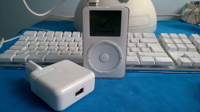 Ładowarka do iPoda 1Gen. to prawdziwe dziwadło... z dzisiejszego punktu widzenia.