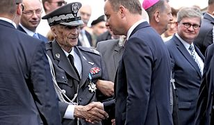 Gen. Ścibor-Rylski tuż przed swoim ostatnim przemówieniem