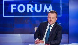 Dziennikarz TVP Adrian Klarenbach