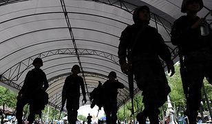 Żołnierze w Bangkoku