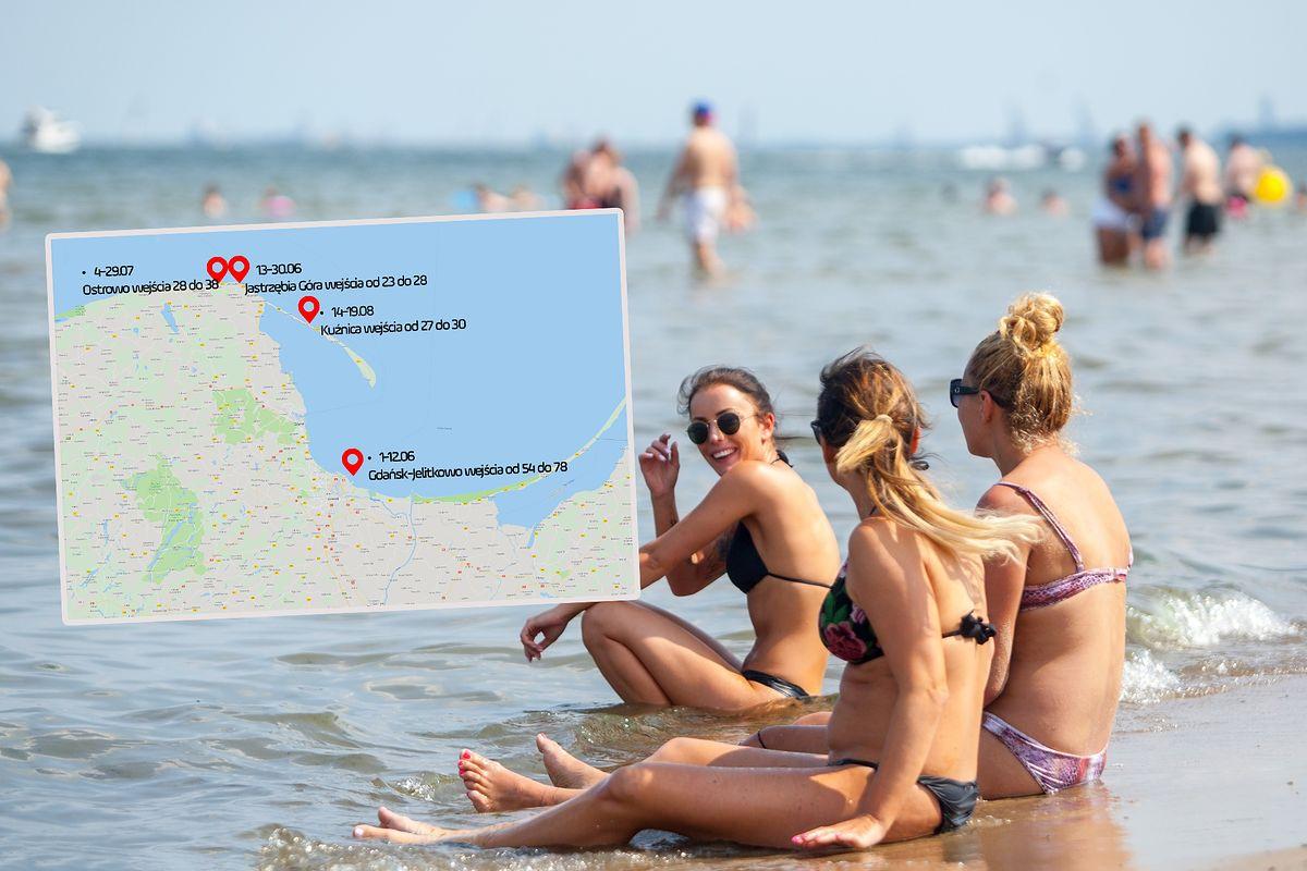 Sezon nad Zatoką Gdańską rozpocznie się z opóźnieniem. Za to plaże będą szersze