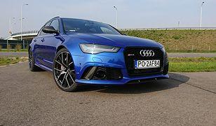 Audi RS6 - takim autem będzie jeździł Robert Lewandowski