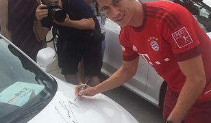 Nie tylko Lewandowski ma słabość do Audi