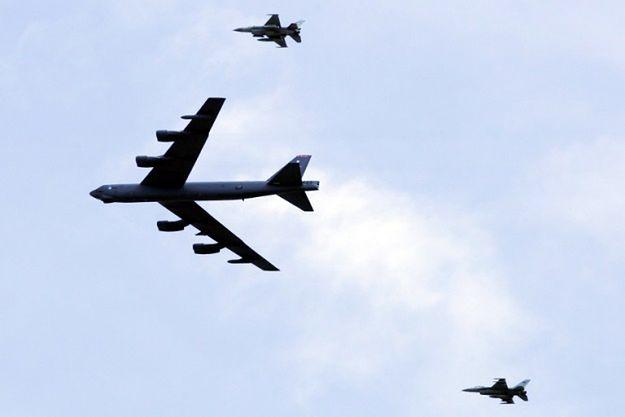 Amerykański bombowiec B-52