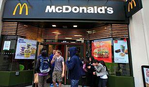 McDonald's informuje o kaloriach