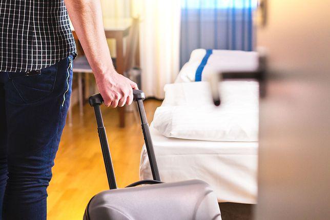 Zadziwiające jest, co ludzie potrafią wynieść z pokoju hotelowego