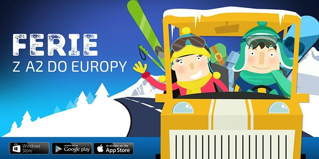 Ferie z aplikacją A2 DO EUROPY