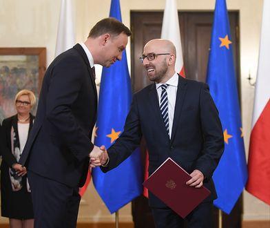 Tą wypowiedzią Łapiński potwierdza obawy Polaków na temat Dudy?