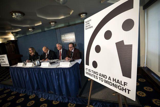 Konferencja prasowa Biuletynu Naukowców Atomowych