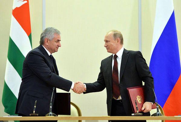 Rosja przejmuje kontrolę nad Abchazją