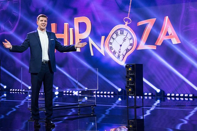 "Filip Chajzer w programie ""Hipnoza"""