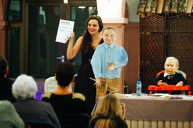 Klaudia Jachira znana jest z satyrycznych filmów i wystąpień