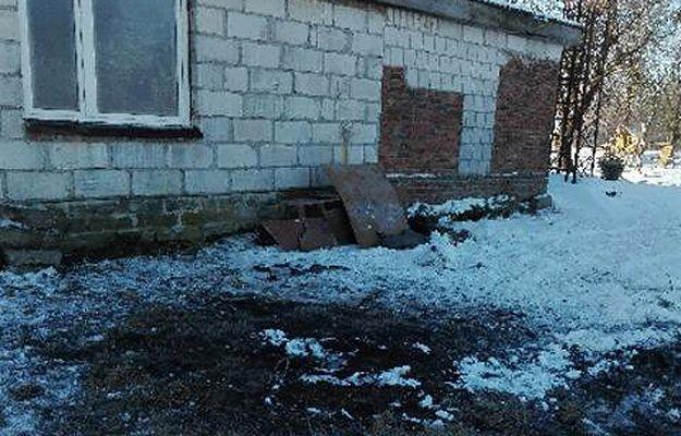 Wybuch pocisku artyleryjskiego. Nie żyje 22-latek, który wrzucił go do ogniska