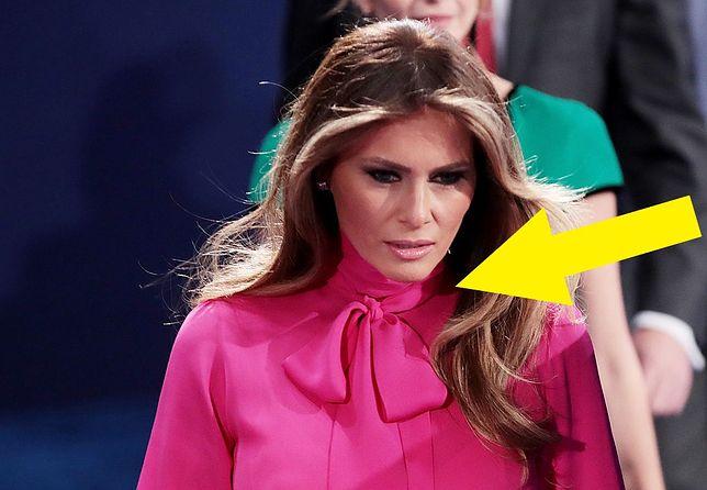 "Melania Trump i jej legendarna ""pussy bow"""