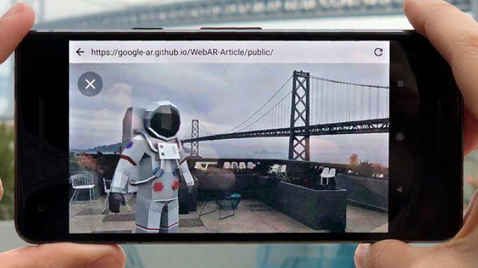 Dzięki Google do korzystania z rozszerzonej rzeczywistości wystarczy przeglądarka