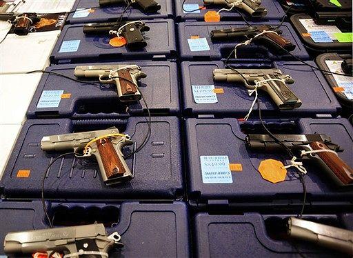 Amerykańskie zabawy z bronią - zobacz zdjęcia