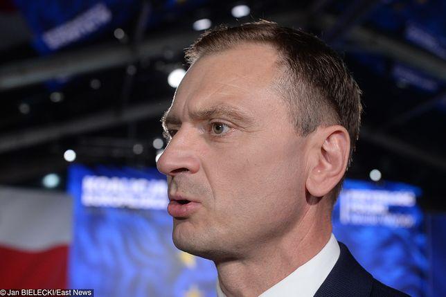 Sejm. Sławomir Nitras został ukarany przez Prezydium Sejmu