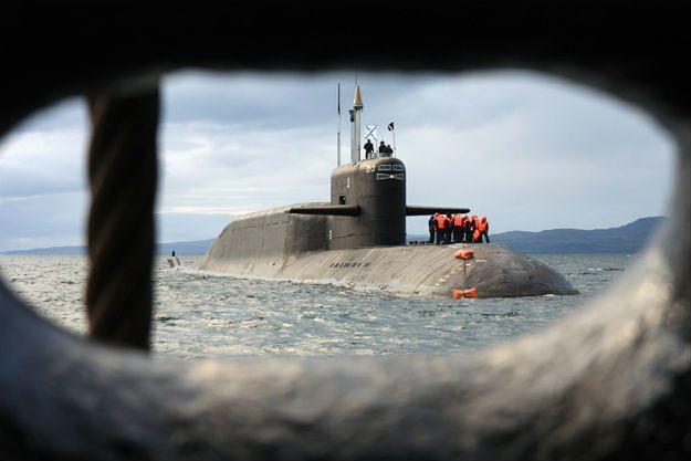 """Atomowy okręt podwodny proj. 667BDRM """"Delfin"""""""