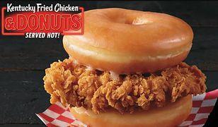Donuty z kurczakiem od KFC