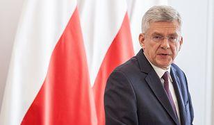Minister Karczewski powiedział dziennikarzom, że jest zadowolony z propozycji swojej partii.