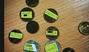 Takie monety znaleziono w jednej z puszek w opolskim sztabie WOŚP
