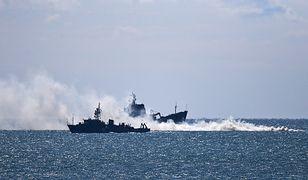 """Tłoczno na Morzu Czarnym. """"Rosja wysłała prawie wszystkie okręty"""""""