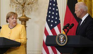 Joe Biden po spotkaniu z Angelą Merkel. Mówił o wschodniej flance NATO