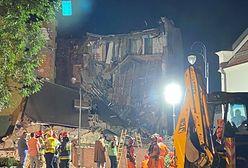 Chorzów. Zawalenie kamienicy, strażacy przeszukali gruzowisko