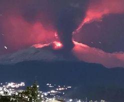 Etna się przebudziła. Apokalipsa we Włoszech? Wygląda jak koniec świata