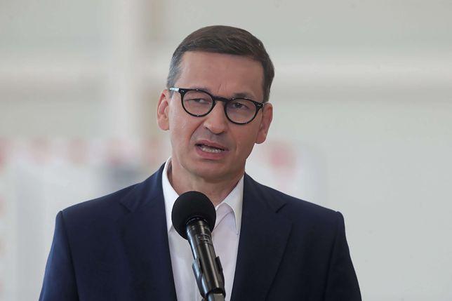 Premier ostro rzezi wołyńskiej. Mocny wpis Morawieckiego