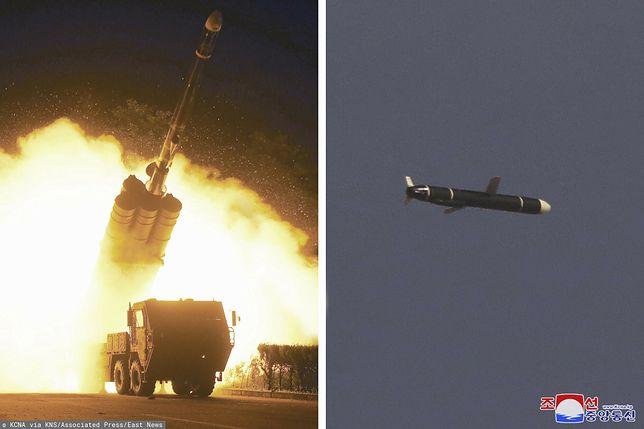 Korea Północna przeprowadziła udane testy pocisków manewrujących dalekiego zasięgu