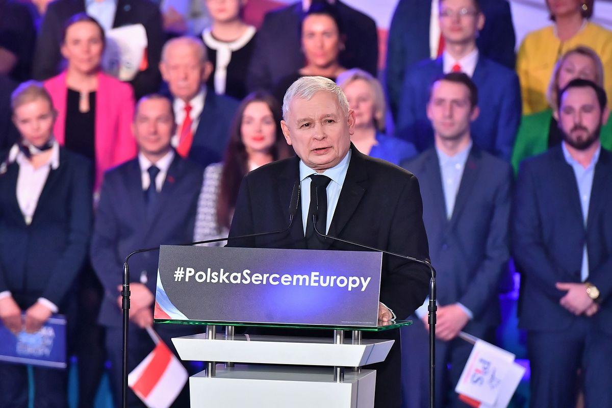 Kaczyński chwali działania PiS: my nie dzielimy Polaków