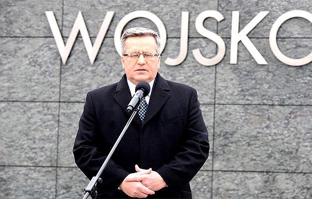 Rosyjska telewizja: Komorowski zapomniał, co Polakom zrobili naziści