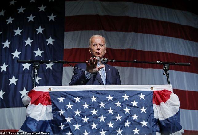 Amerykański polityk Joe Biden zaliczył kolejną wpadkę