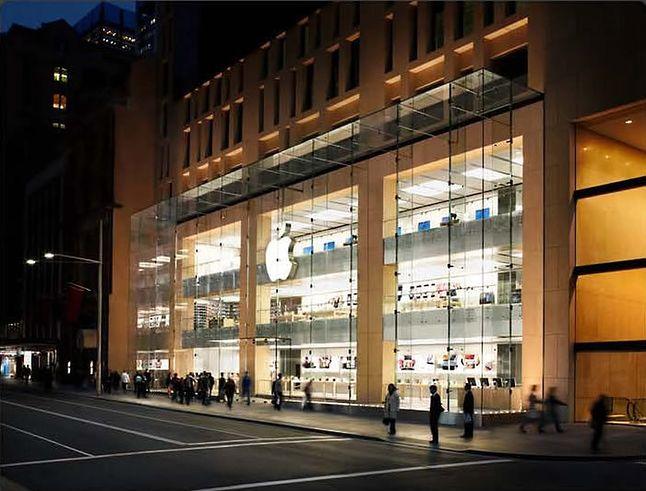 Apple Store w Sydney