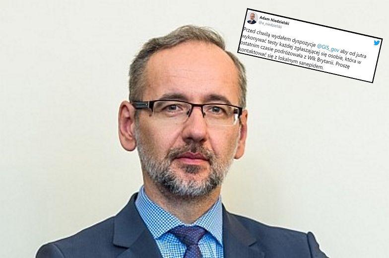 Ważne! Nowa mutacja koronawirusa. Minister zdrowia apeluje