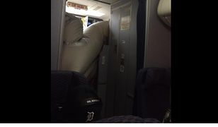 Nietypowy wypadek na pokładzie Boeinga 737