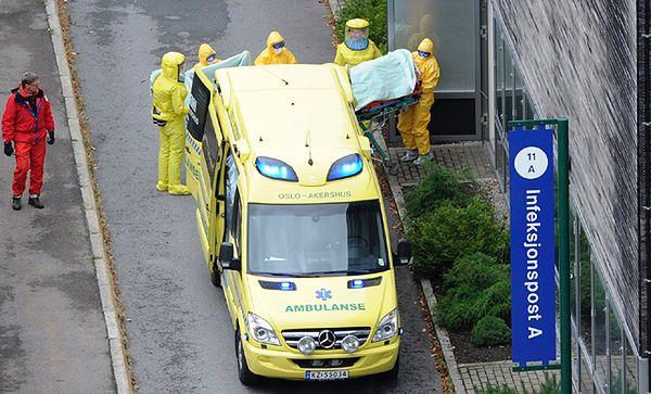 Kolejny przypadek Eboli w Europie. Zarażona Norweżka trafiła do szpitala w Oslo