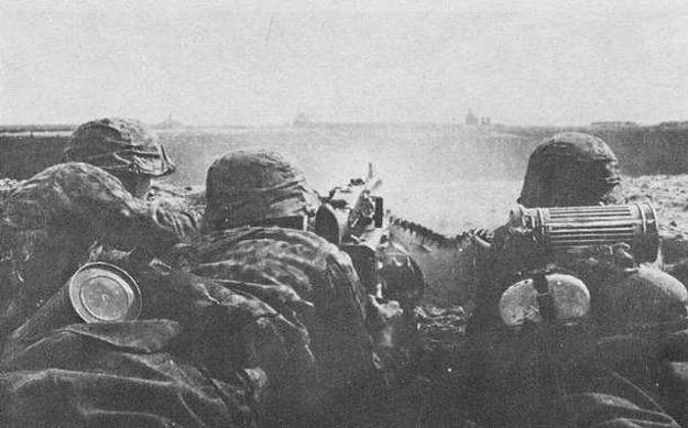 Żołnierze jednej z dywizji SS