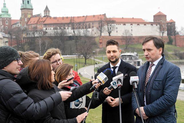 Patryk Jaki i Zbigniew Ziobro w Krakowie
