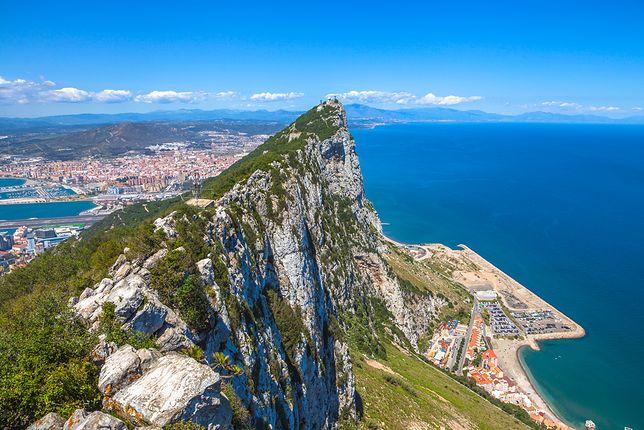 Sekretne pomieszczenie we wnętrzu Skały Gibraltarskiej
