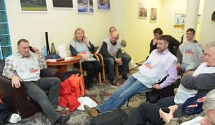 """""""Solidarność"""" okupuje biuro dolnośląskiej Platformy. """"Żądamy odpowiedzi na nasze postulaty"""""""